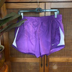 Nike • Purple Dri-Fit Running Shorts